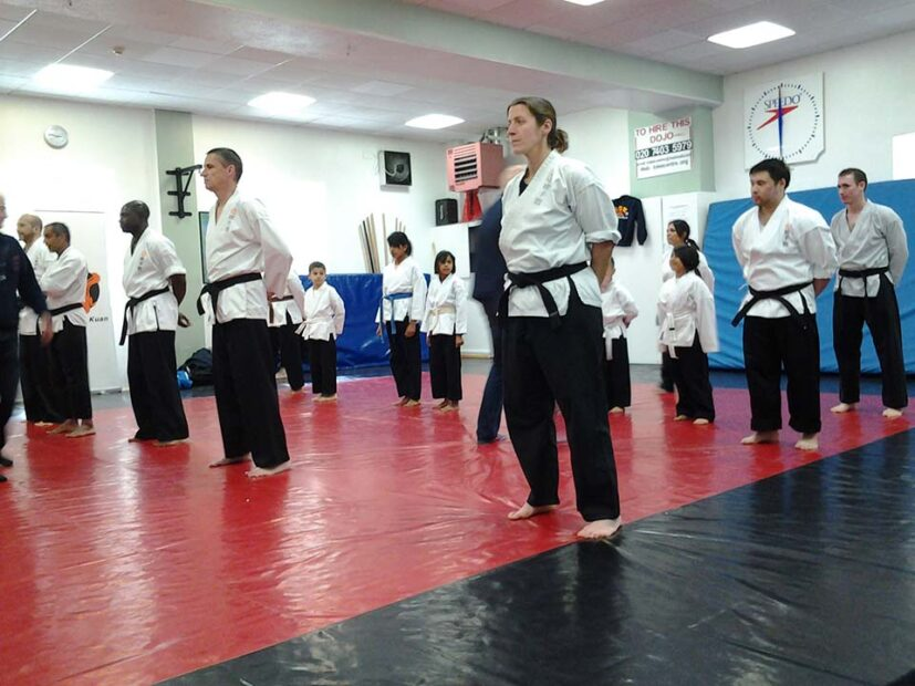 Students training at Dan Tien Watford