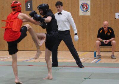 London fighter Jon S during Sanda 2019 championships