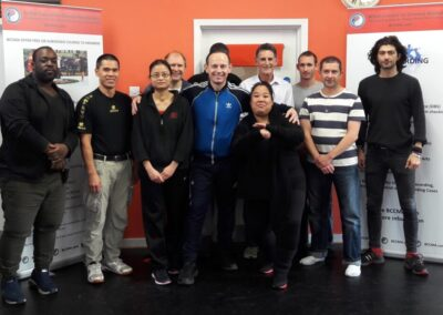 6 SSK members on NGB fitness assessment course for martial artists (NGB National Governing Body)