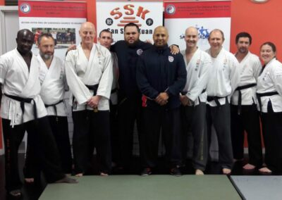 SSK Revision day workshop Extra with Shuai Jiao (Chinese Wrestling) guest instructors